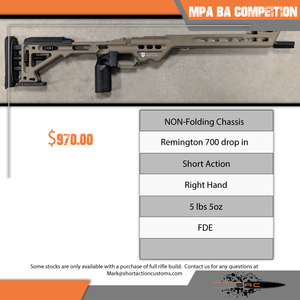 MPA FDE BA Competition NON folding Chassis