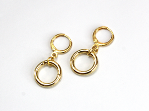 Locket Hoops