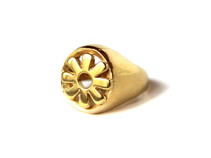 Anillo Blooming Flower Gold