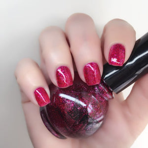 """Flirt"" - All That Glitters Line- 7 Free, Vegan, Cruelty Free Nail Paint Polish"