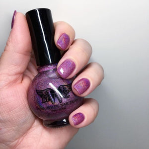 """Gone Wilde"" Signature Hologram 7 Free, Vegan, Cruelty-Free Nail Paint Polish"