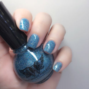 """Heaven"" - All That Glitters Line7 Free, Vegan, Cruelty Free Nail Paint Polish"