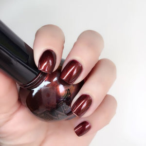"""Randi"" - Candy Finish 7 Free, Vegan, Cruelty-Free Nail Paint Polish"