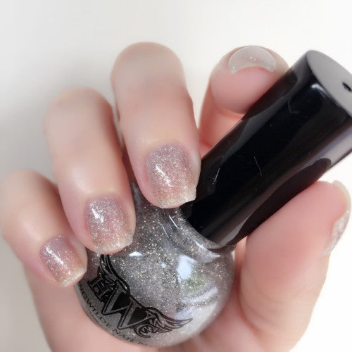 """Dazzlin"" All That Glitters Line - 7 Free, Vegan, Cruelty-Free Nail Paint Polish"