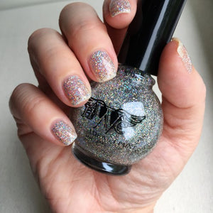 """Class Act"" - Hologram Sparkle, 7 Free, Vegan, Cruelty Free Nail Paint Polish"