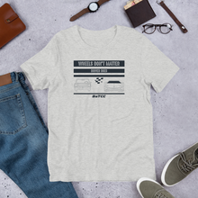 Load image into Gallery viewer, Wheels don't matter Unisex T-Shirt