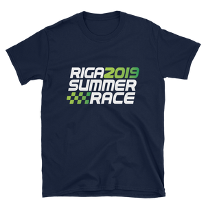 Official Riga Summer Race 2019 Unisex T-Shirt 4 colors