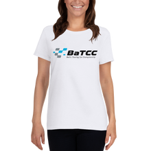 Load image into Gallery viewer, Women's short sleeve BaTCC logo t-shirt