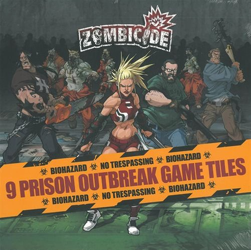 Zombicide: Prison Outbreak Tile Pack