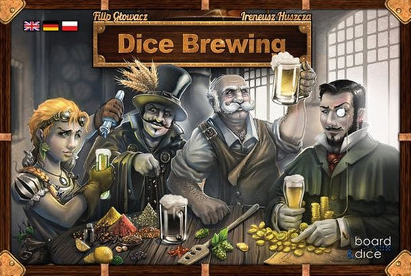 Dice Brewing: Player Mats