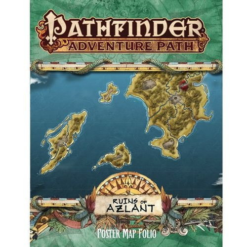 Pathfinder: Ruins of Azlant Poster Map Folio