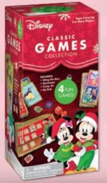 Disney Holiday Games Collection - 4 Games in One!