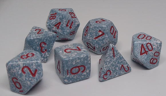 Chessex 25300 Speckled: Air - Polyhedral (7 Dice)
