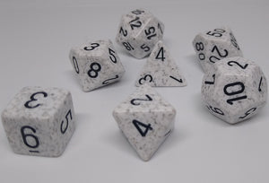 Chessex 25311 Speckled: Arctic Camo - Polyhedral (7 Dice)