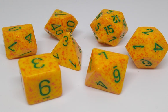 Chessex 25312 Speckled: Lotus - Polyhedral (7 Dice)