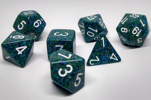 Chessex 25316 Speckled: Sea - Polyhedral (7 Dice)
