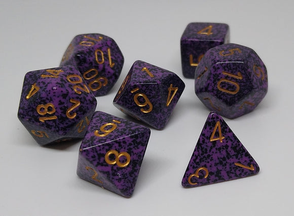 Chessex 25317 Speckled: Hurricane - Polyhedral (7 Dice)