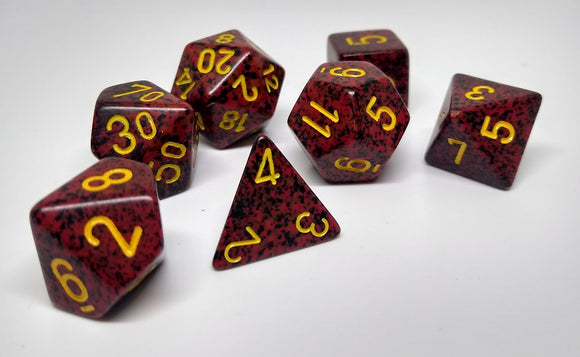 Chessex 25323 Speckled: Mercury - Polyhedral (7 Dice)