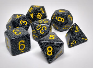 Chessex 25328 Speckled: Urban Camo - Polyhedral (7 Dice)