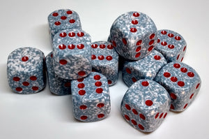 Chessex 25700 Speckled: Air - 16mm D6 (12 Dice)