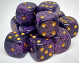 Chessex 25717 Speckled: Hurricane - 16mm D6 (12 Dice)