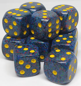 Chessex 25766 Speckled: Twilight - 16mm D6 (12 Dice)