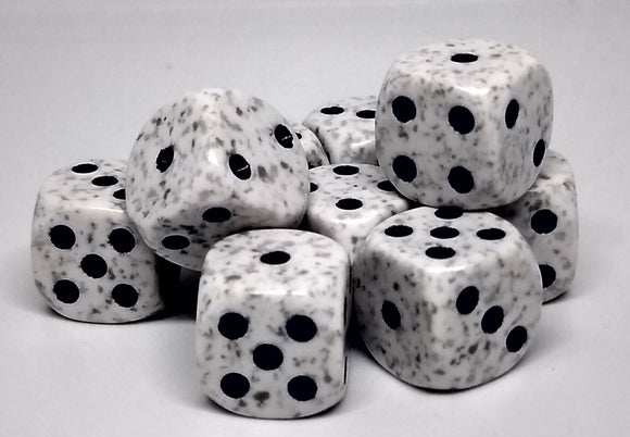Chessex 25911 Speckled: Arctic Camo - 12mm D6 (36 Dice)