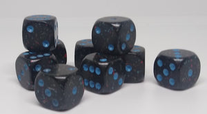 Chessex 25938 Speckled: Blue Stars - 12mm D6 (36 Dice)