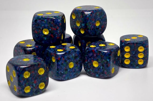 Chessex 25966 Speckled: Twilight - 12mm D6 (36 Dice)