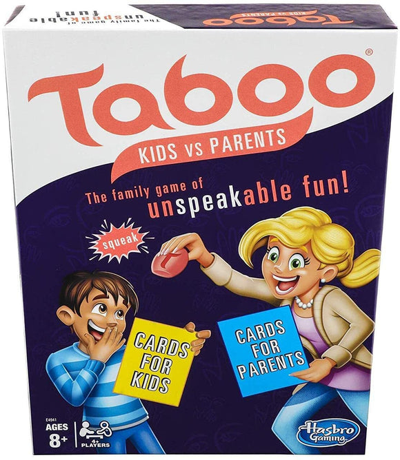 Taboo: Kids vs. Parents