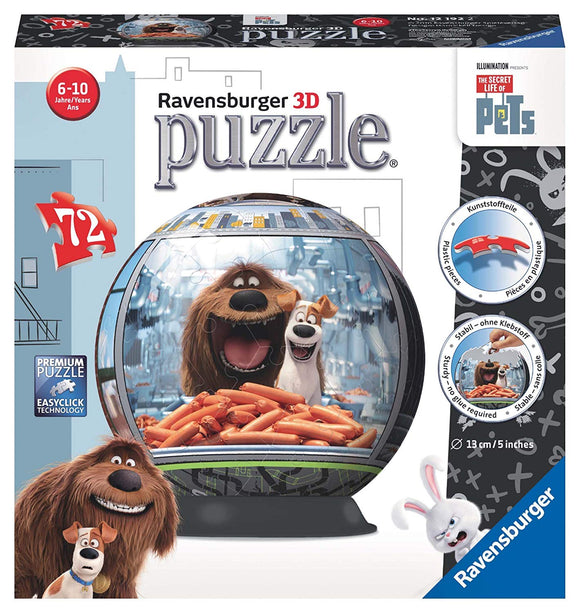 The Secret Life of Pets - 3D Jigsaw Puzzle Ball