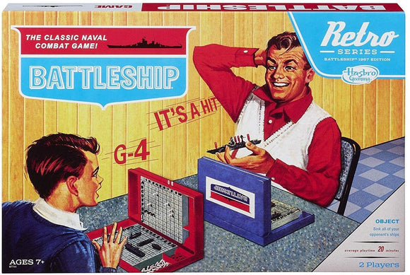 Battleship Games Retro Series- 1967 Edition