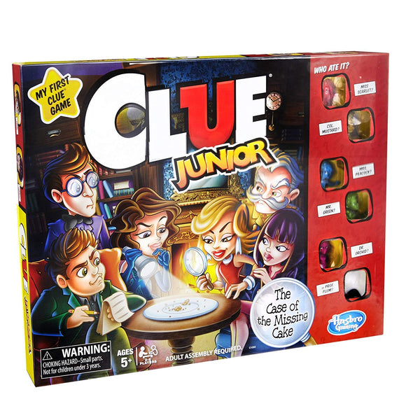Clue Junior: The Case of the Missing Cake