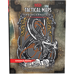 Dungeons and Dragons RPG: Tactics Maps Reincarnated
