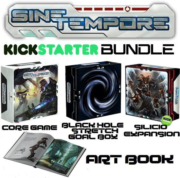 Sine Tempore Kickstarter Bundle #2 (Core + Black Hole + Silicio + Art Book)