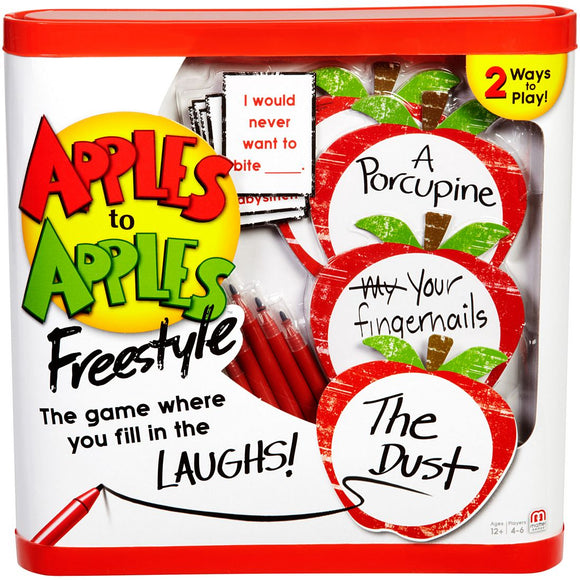 Apples to Apples: Freestyle