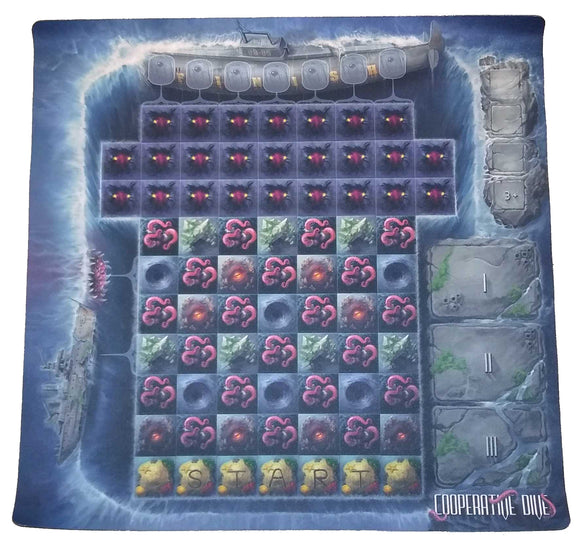 The Refuge: Terror from the Deep Deluxe Playmat