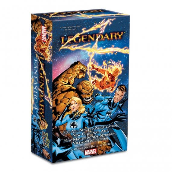 Legendary: A Marvel Deck Building Game – Fantastic Four
