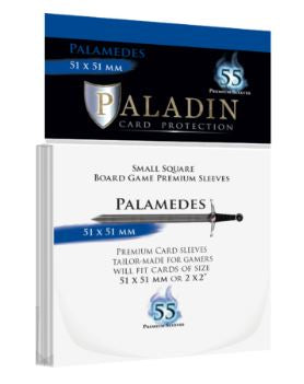 Paladin Card Sleeves: Palamedes (55 × 55 mm)
