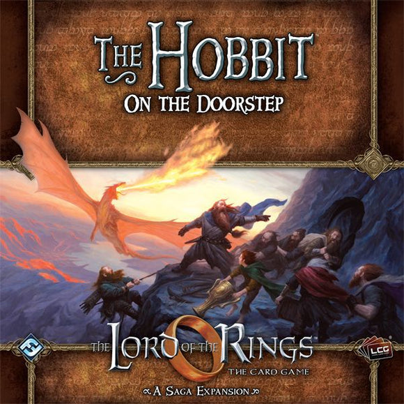 The Lord of the Rings LCG: The Hobbit - On the Doorstep: Saga Expansion