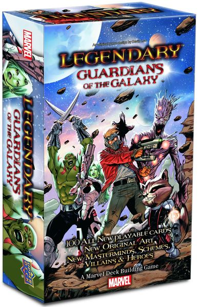 Legendary: A Marvel Deck Building Game – Guardians of the Galaxy