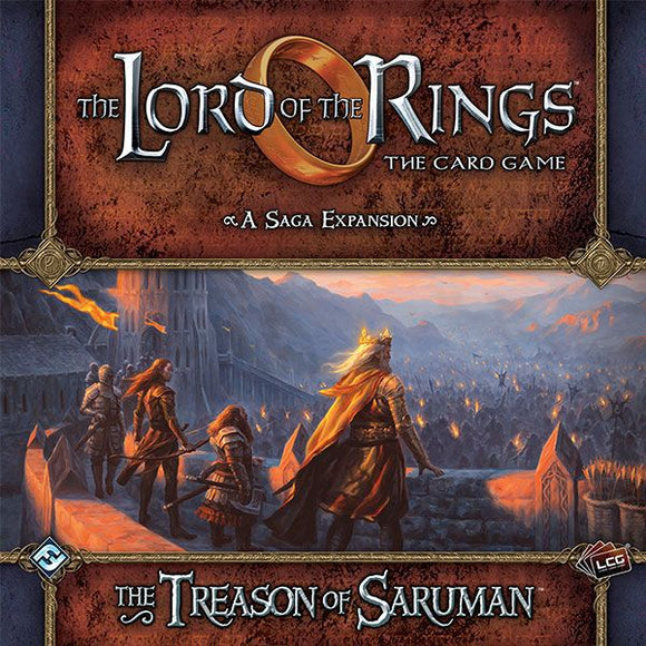 The Lord of the Rings LCG: The Treason of Saruman Saga Expansion
