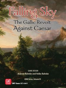Falling Sky: The Gallic Revolt Against Caesar, 2nd Printing