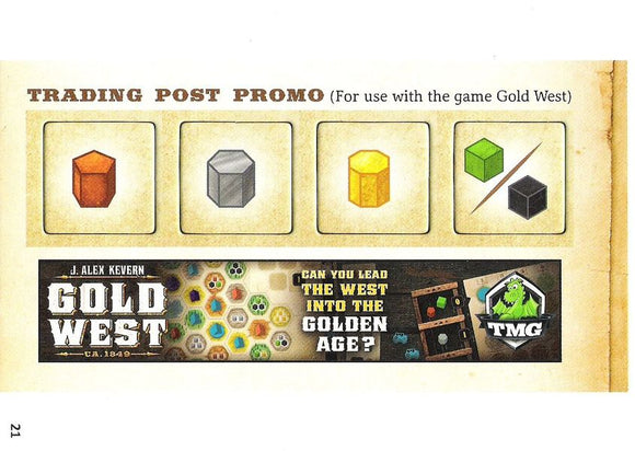 Gold West: Brettspiel Adventskalender 2016 Promo