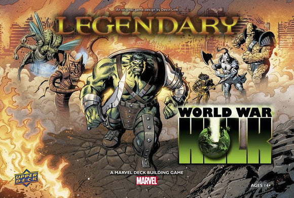 Legendary: A Marvel Deck Building Game – World War Hulk