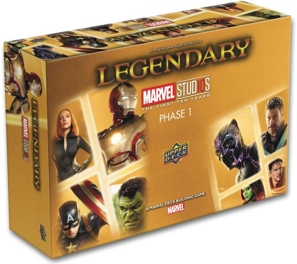 Legendary: A Marvel Deck Building Game – Marvel Studios, Phase 1