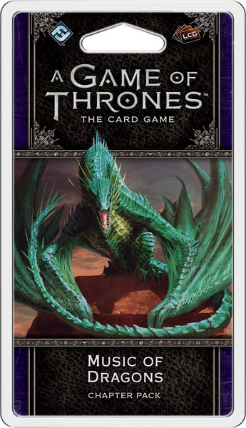 A Game of Thrones LCG: 2nd Edition - Music of Dragons Chapter Pack