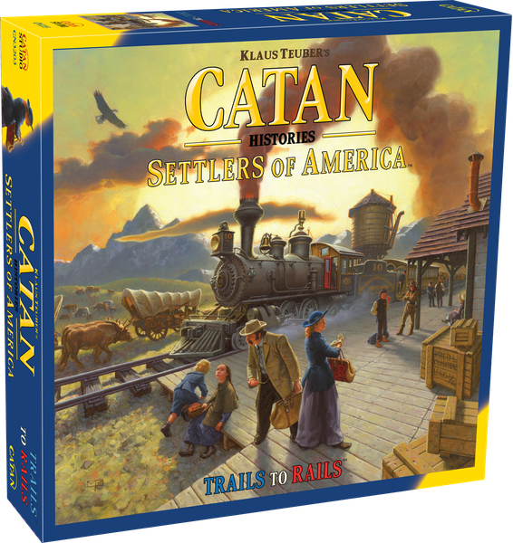 Catan Histories - Settlers of America Trails To Rails