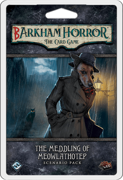Barkham Horror: The Card Game – The Meddling of Meowlathotep: Scenario Pack