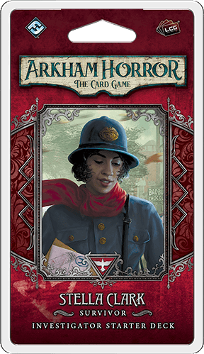 Arkham Horror: The Card Game – Stella Clark: Investigator Starter Deck